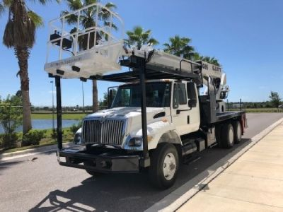 2007 Elliott G85R Sign Crane Truck for Sale Mounted On a 2007 International 7400 Chassis