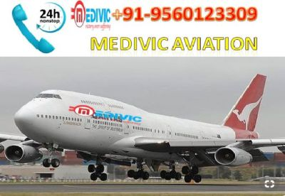 Life Support Facility Air Ambulance in Patna-Medivic