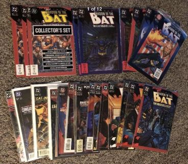 Batman Comics Collection - Shadow of the Bat - 27 Issues