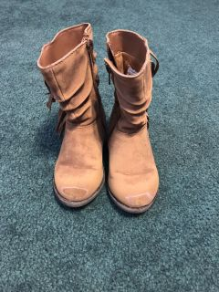 Size 7 Toddler Girls boots