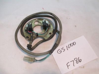 Find 9A SUZUKI GS1000 POINTS PLATE PULSE GENERATOR F786 motorcycle in Cottonwood, Arizona, US, for US $30.00