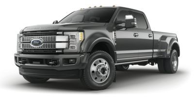 2019 Ford Super Duty F-450 Pickup Platinum 4WD Crew Cab 8' Box (Agate Black Metallic)