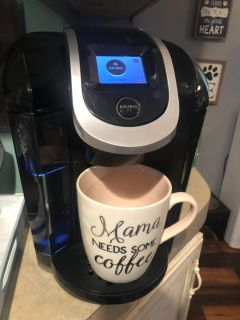Keurig 2.0 with accessories