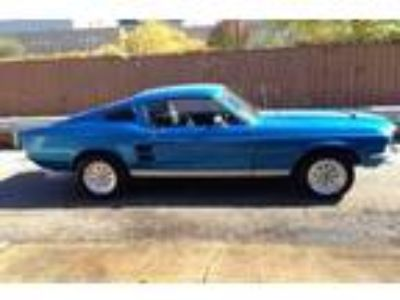 I am selling a 67 Fastback automatic with a 302 V8