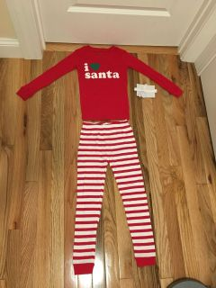 Carter s I Santa 2 Piece PJs. Size 5. Brand New with Tags.