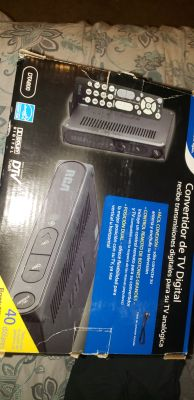 Digitial converter box for old tv new