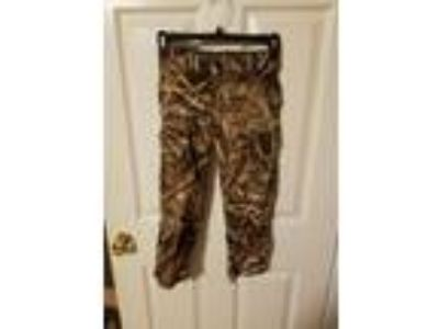 game winner youth size 4-6 small field camo pants