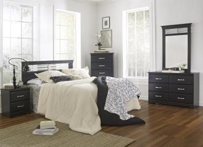 New 5 Pc Queen Bedroom Set $40.00 Down. Take Home Today!