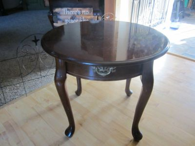Solid Wood Accent Table 24by24