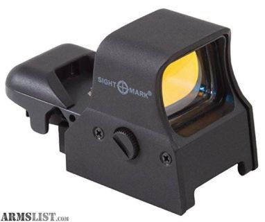 For Sale: Used Sightmark Ultrashot Quick Detach Reflex Sight with Digital Switch 1 of 2