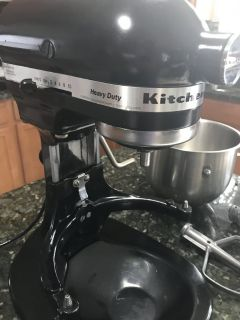 Kitchen Aid Commercial Mixer with 3 attachments