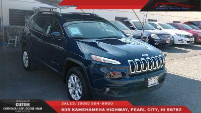 2018 Jeep Cherokee (Patriot Blue Pearlcoat)