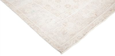 """Vintage, Hand Knotted Area Rug - 6' 4"""" x 9' 7"""""""