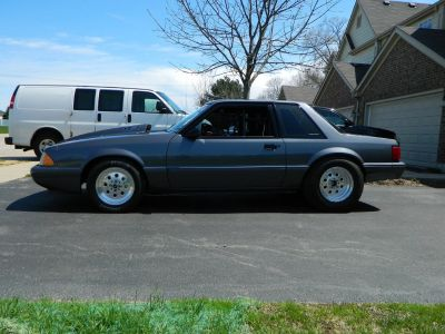 1990 Mustang Notchback All Motor Drag Car