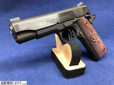 For Sale: Colt Lightweight Commander 1911 9mm