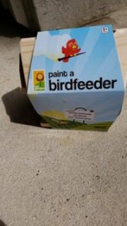 New paint your own bird feeder