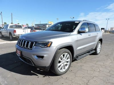 2017 Jeep Grand Cherokee Limited (Billet Silver Metallic Clearcoat)