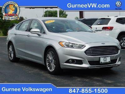 2013 Ford Fusion SE (Silver)