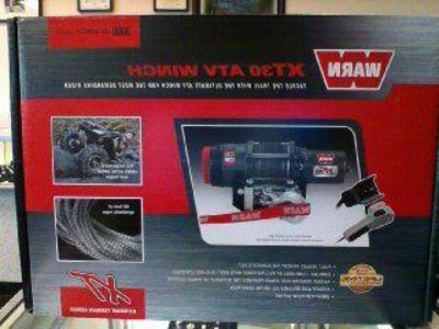 Find Snow winchWarn XT30 ATV Winch + Mount 3000lbs capacity motorcycle in Bell, California, US, for US $499.99