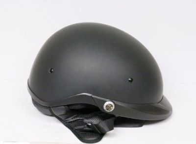 Sell Open-Box Bell Pit Boss Flat Matte Black Street Motorcycle Half Helmet Large motorcycle in Gambrills, Maryland, United States