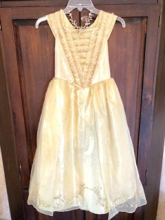 Beauty and the Beast Belle costume dress