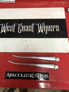 Restored SWF cinch bolt wiper arms 65-68 Bugs