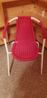Outdoor or Indoor metal plastic chair