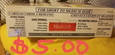 Jet Set EZ Grip Self gripping curlers. Never used