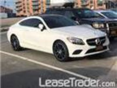 2019 Mercedes-Benz C300 4MATIC Coupe Lease