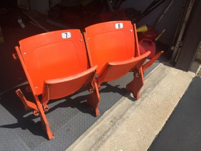 Vintage Authentic Bears Stadium Seats - Soldier Field