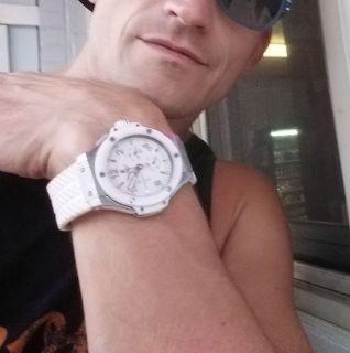 Lost white watch by elementary school spirit lake