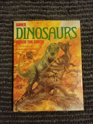 Childrens book. When Dinosaurs Ruled the Earth. Like New $4