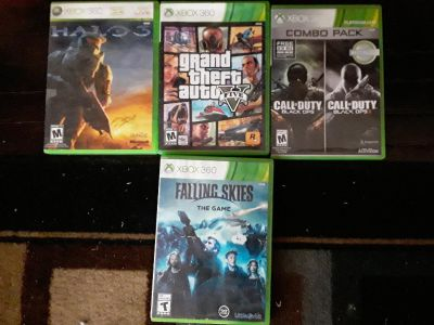 Xbox 360 Rated teen or Mature games willing to sell or trade for more kid friendly games