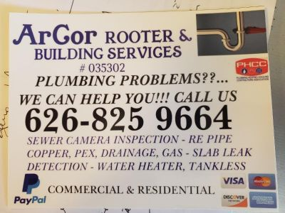 Arcor ROOTER and building services