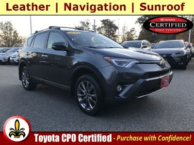 2018 Toyota RAV4 Limited (Magnetic Gray Metallic)