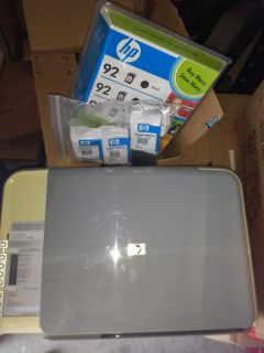 HP Color Photo Printer with all new ink cartridges