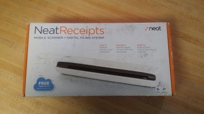 Neat Receipts mobile scanner +Digital filing system