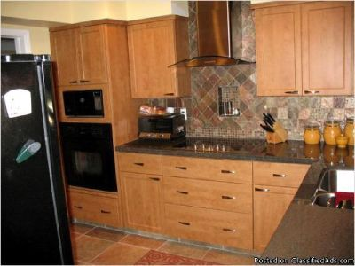 Kitchen remodel, bathroom cabinets: Coconut Creek, Fl. Cabinet refacing