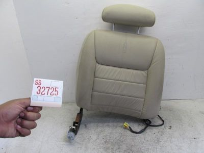 Buy 01 02 TOWN CAR RIGHT FRONT SEAT UPPER BACK CUSHION TAN RECLINE MOTOR HEADREST motorcycle in Sugar Land, Texas, US, for US $109.99