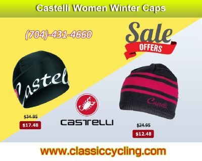 Winter Sale - Castelli Women Cycling Cap – 28144, NC
