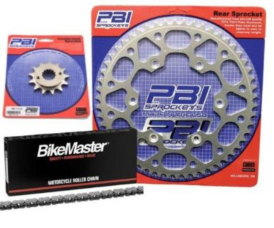 Purchase PBI 13-44 Chain/Sprocket Kit for Yamaha WR250X4-stroke motorcycle in Hinckley, Ohio, United States, for US $75.67