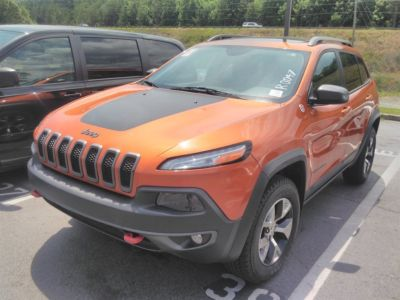 2014 Jeep Cherokee Trailhawk (Orange)