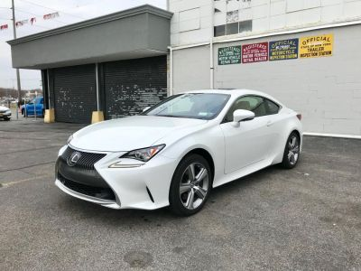 2015 Lexus RC 350 2dr Cpe AWD (Ultra White)