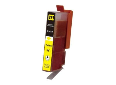 Replacement for Canon CLI-271Y XL cartridge - yellow  |  Atlantic Inkjet