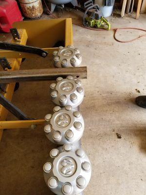 Hub caps for dodge three quarter ton