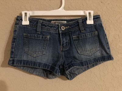 YMI Blue Jean Shorts. Nice Condition. Size 3