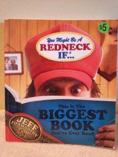 Jeff Foxworthy You Might be a Redneck Book