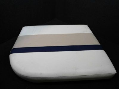 "Sell PONTOON BOAT CUSHION BLUE/WHITE/BEIGE FURNITURE 29.5""x24""x4"" (STOCK #KS-45) motorcycle in Gulfport, Mississippi, US, for US $55.97"