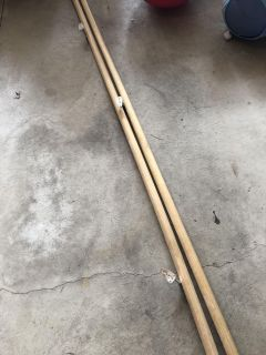 13 ft Wooden Stair Rails