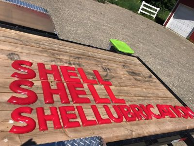 1940's Shell Station Letters COMPLETE